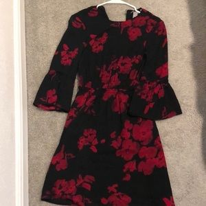 2 for $10, H&M red flower dress